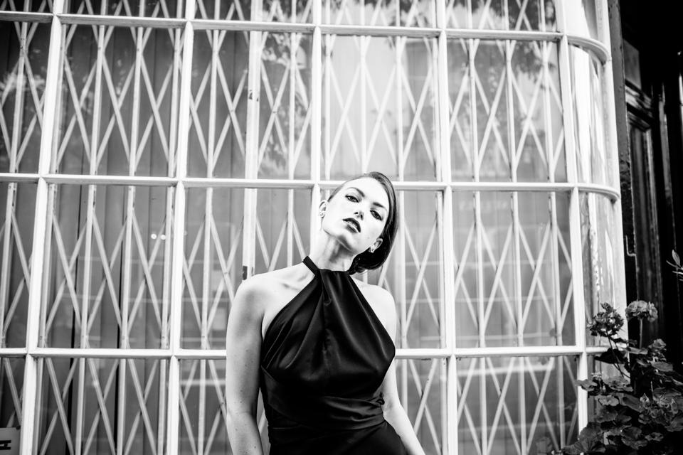 black satin dress inspiration halfpenny