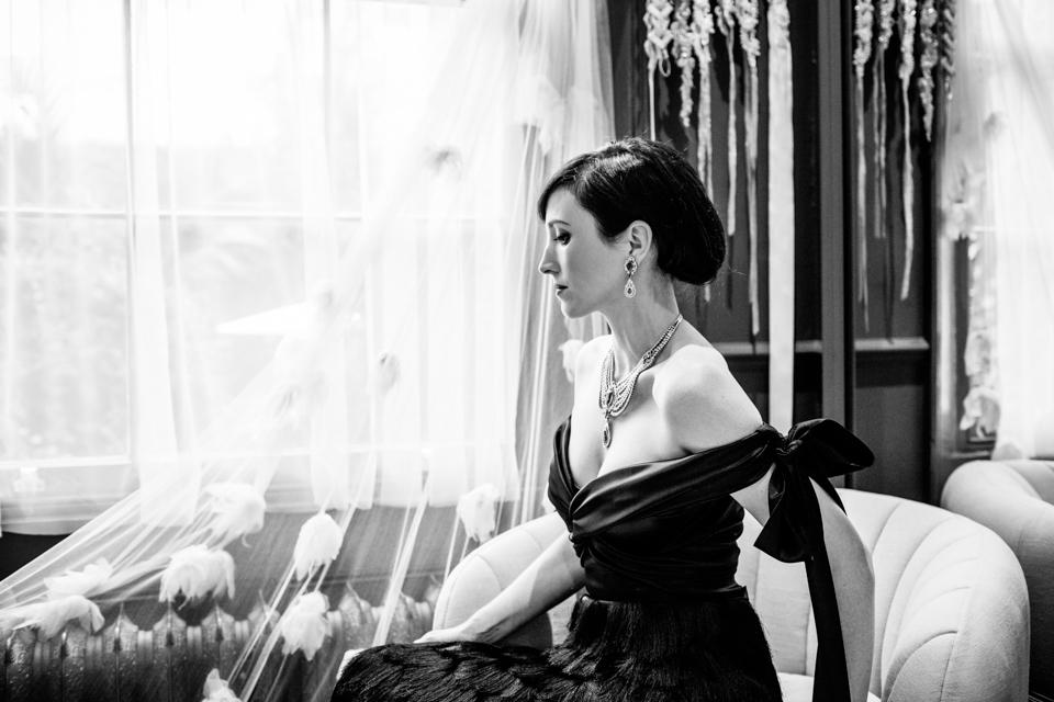 art deco wedding dress inspiration
