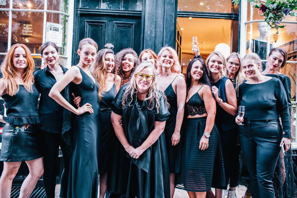 halfpenny london exclusive black edit launch