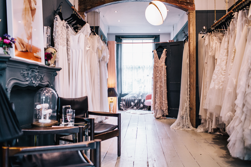 bridal boutique halfpenny london