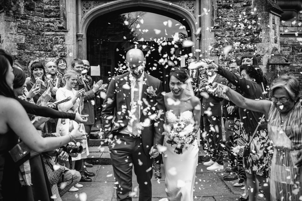 Confetti at Rhinefield House