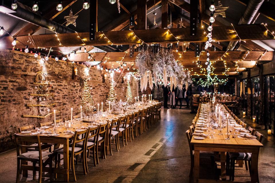 christmas wedding at dewsall court