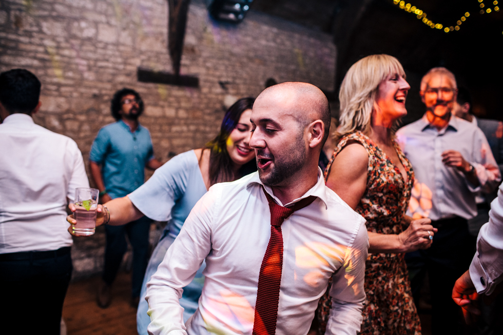 Dancing like no one is watching at the walled garden Mells